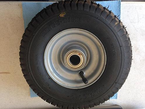11X4.00-5 Tire and Wheel for Sicma finish Mower Code 6611405
