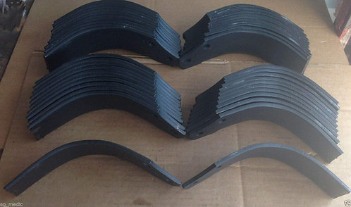 """First Choice Tiller Tine, Fits RT10-58"""", Full Set of 42 Tines 21 LH and 21 RH"""