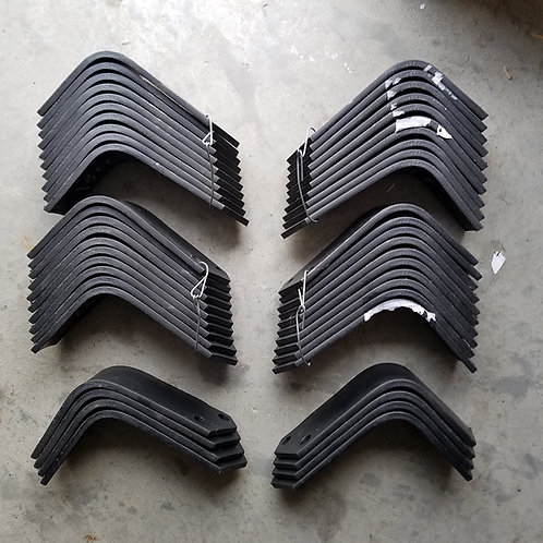 Replacement Tines for Bush Hog RTH-RTX Tillers 24 each 130079L, RH & 130080L, LH
