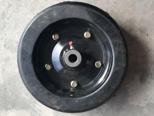 "Complete Bush Hog 10"" X 3.25"" Finish Mower Wheel 88750 with Needle Bearing"