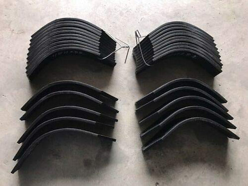 Curtis TMA (Palidino) Rotocultivator Tines Fifteen Each Left Hand and Right Hand