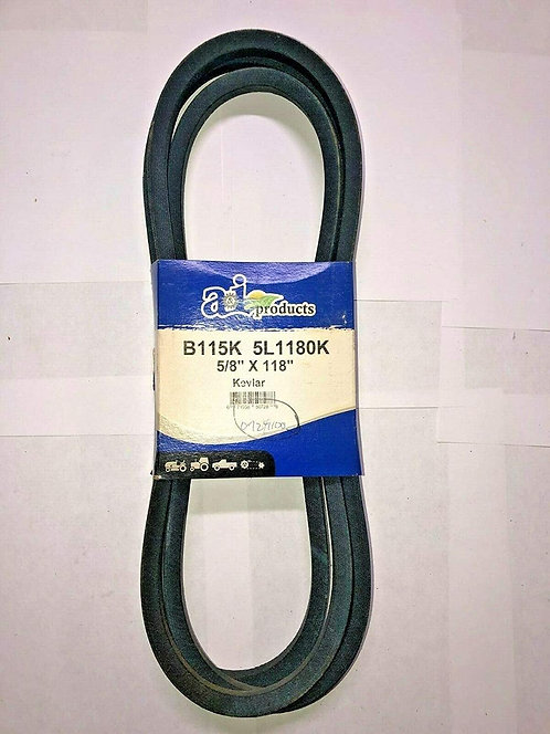 "07241100 Gravely V-Belt Made with Kevlar Cord 5/8"" X 118"""