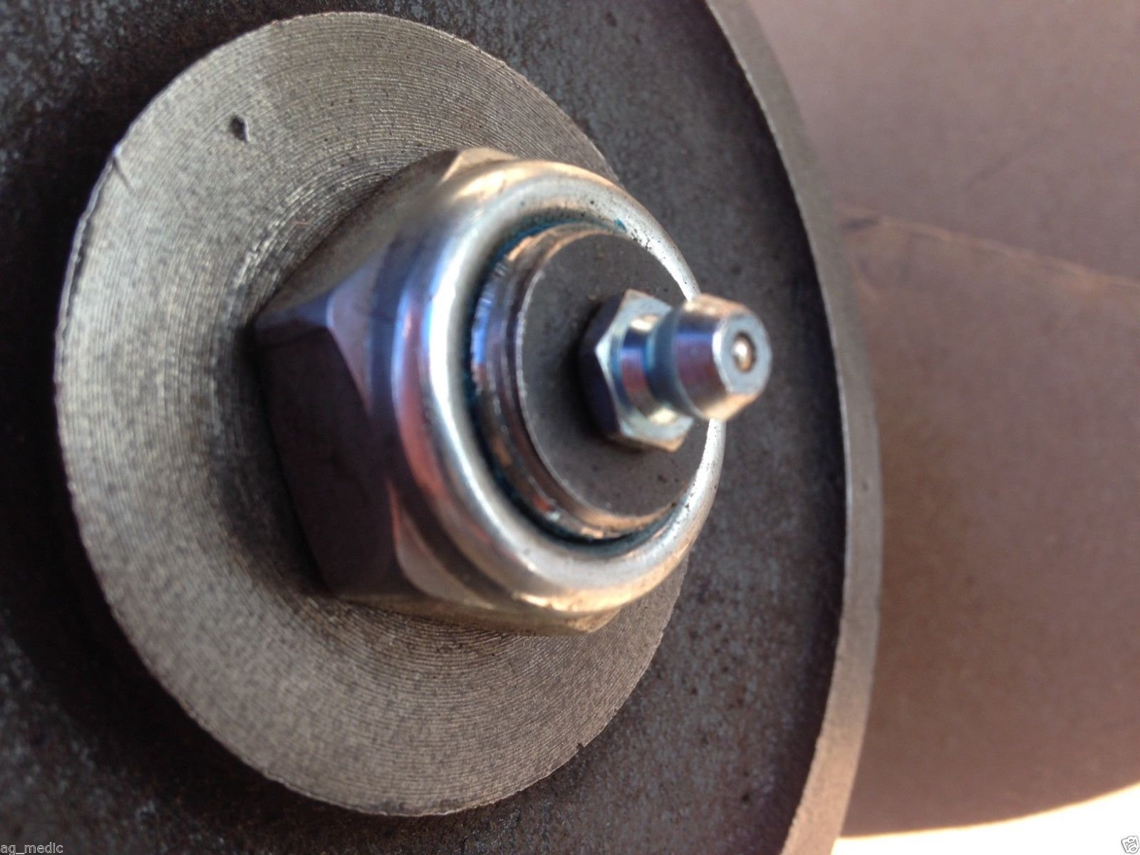 Replacement King Kutter Finish Mower Spindle Code 502303 | brooksagparts