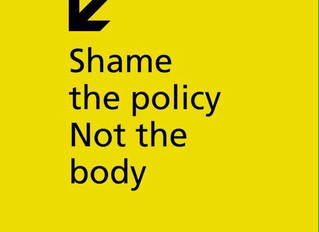Shame the policy not the body