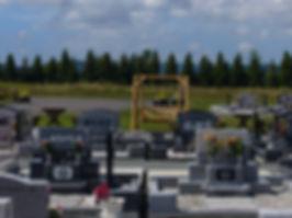 春光の丘霊園 洋型墓石