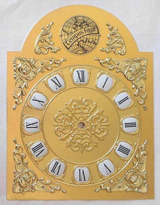 Brojčanik za sat rimski Tempus fugit - 33x25 cm