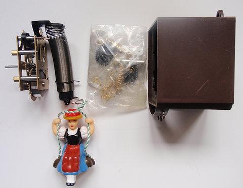 Mini mehanički sat sa njihalicom