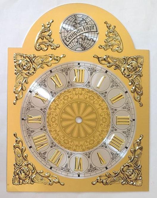 Brojčanik R33A za sat rimski Tempus fugit - 33x25 cm