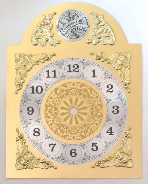 Brojčanik arapski za sat Tempus fugit - 26,5x20 cm