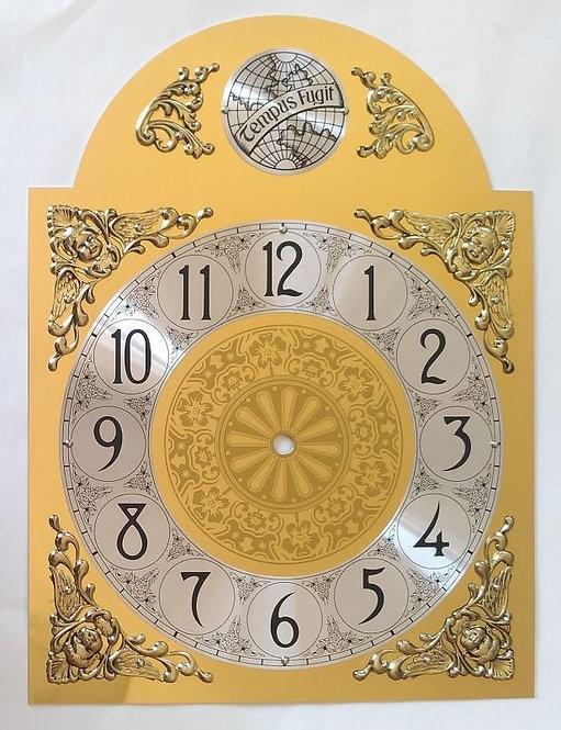 Brojčanik arapski za sat Tempus fugit - 37,5x28 cm