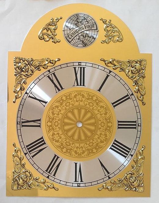 Brojčanik rimski za sat Tempus fugit - 37,5x28 cm