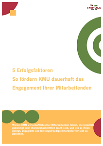 Leitfaden - 5 Erfolgsfaktoren für engagierte MA