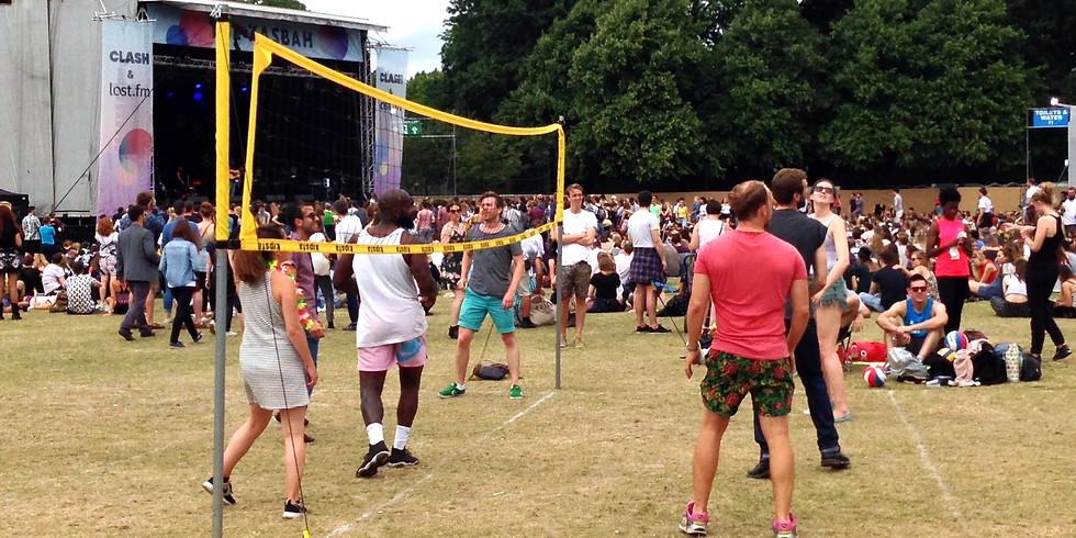 Junior Grass Volleyball Tournament - Finsbury Park N4