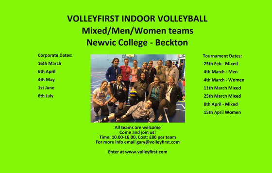 New Series of Volleyball Tournaments