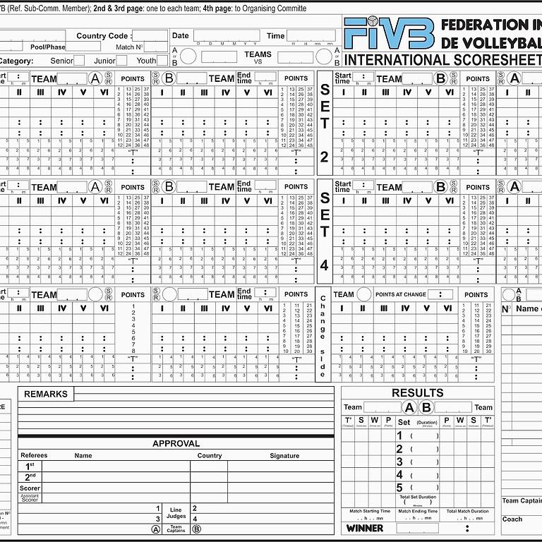 Get into Volleyball Scoring - part 1