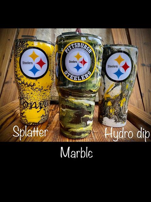 Steelers Inspired Tumbler