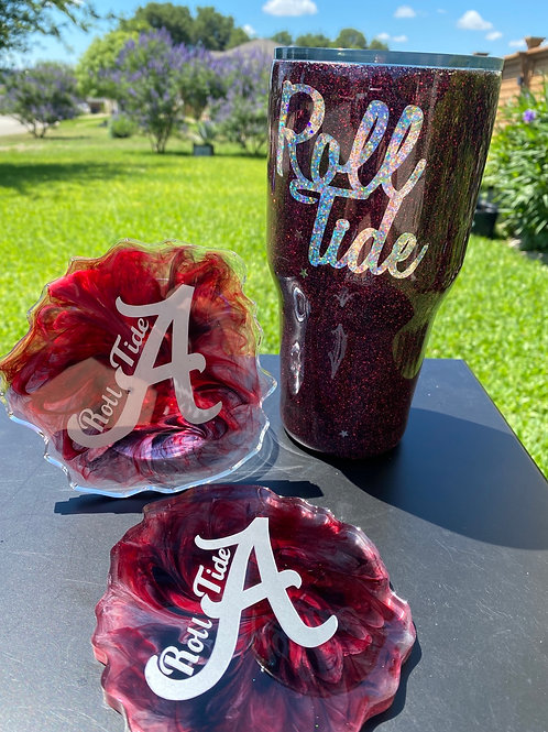 Alabama Inspired Tumbler