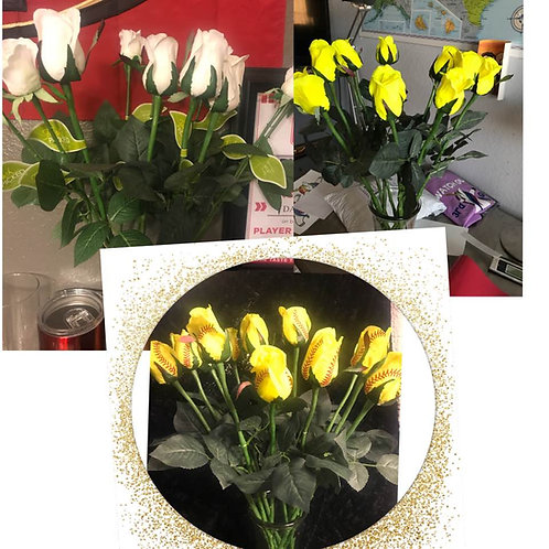 SoftBall Roses