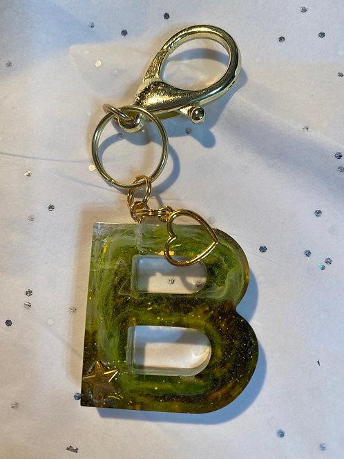 B Keychain