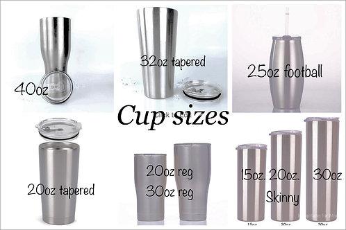 Custom Cup Request