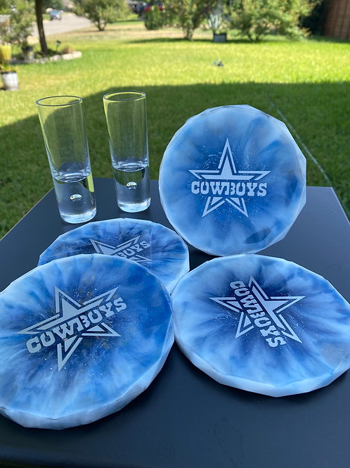 Cowboys Coaster Set