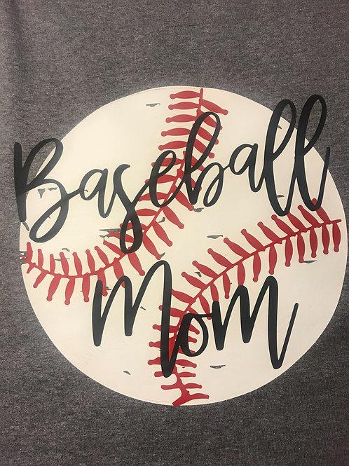 Baseball/Softball Mom Tee