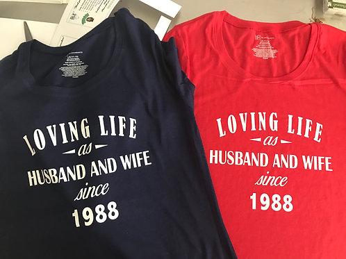 Husband and Wife Tees