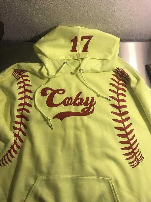 Softball Custom Hoodie