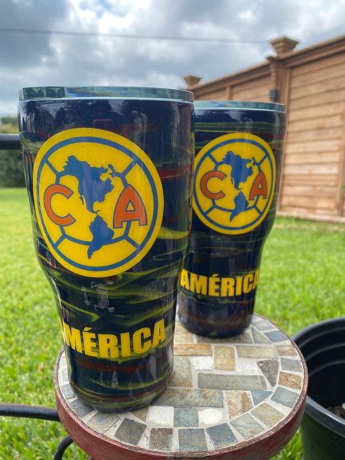 Club América Inspired Tumblers