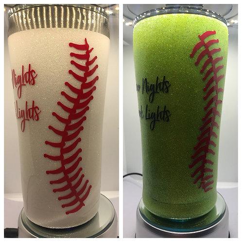Softball/Baseball Tumbler