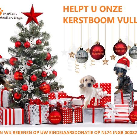 Helpt u onze kerstboom vullen?
