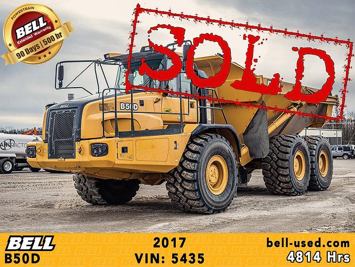 BELL B50D VIN: 5435