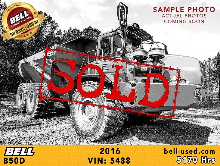 used Bell dump truck B50D