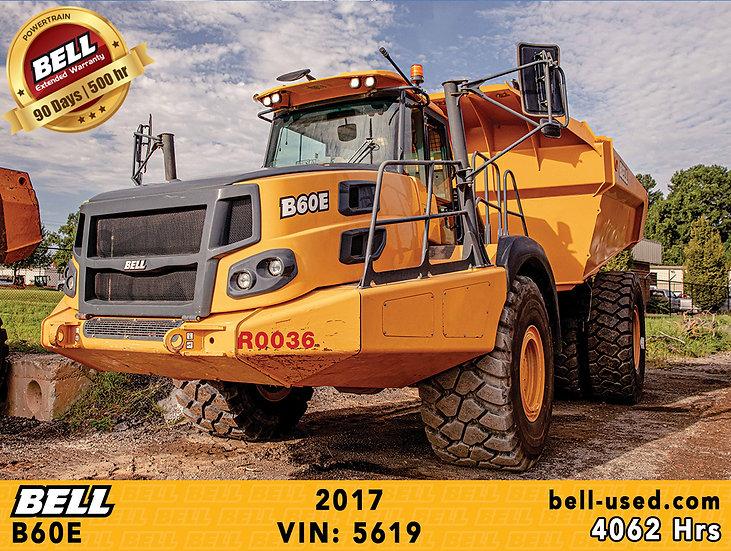 BELL B60E VIN: 5619