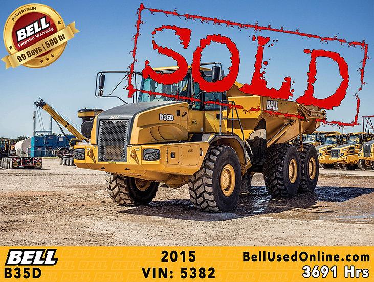 BELL B35D VIN: 5382