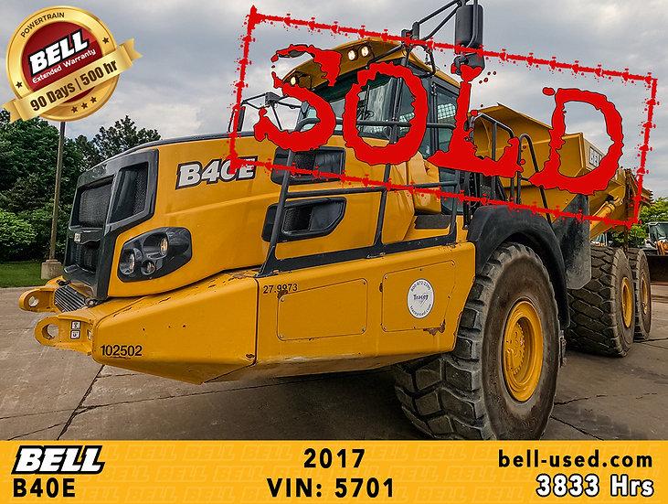 BELL B40E VIN: 5701