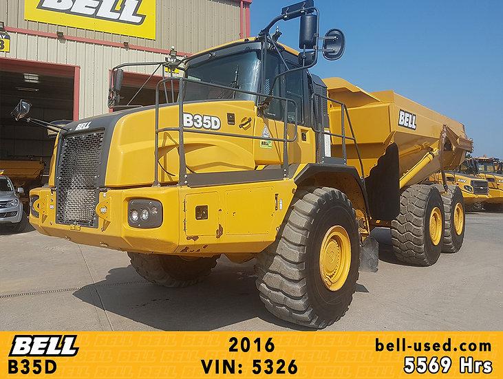used Bell dump truck B35D