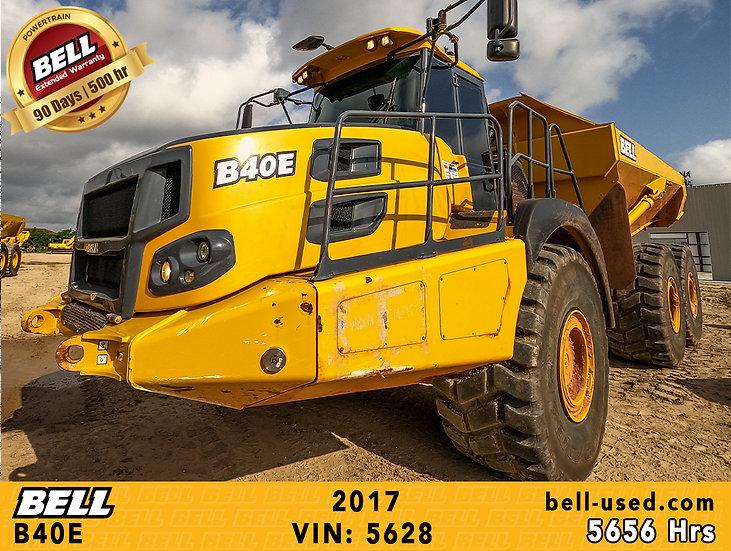 used Bell dump truck B45E