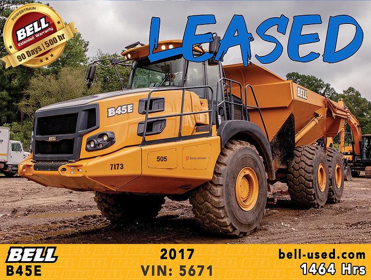 BELL B45E VIN: 5671