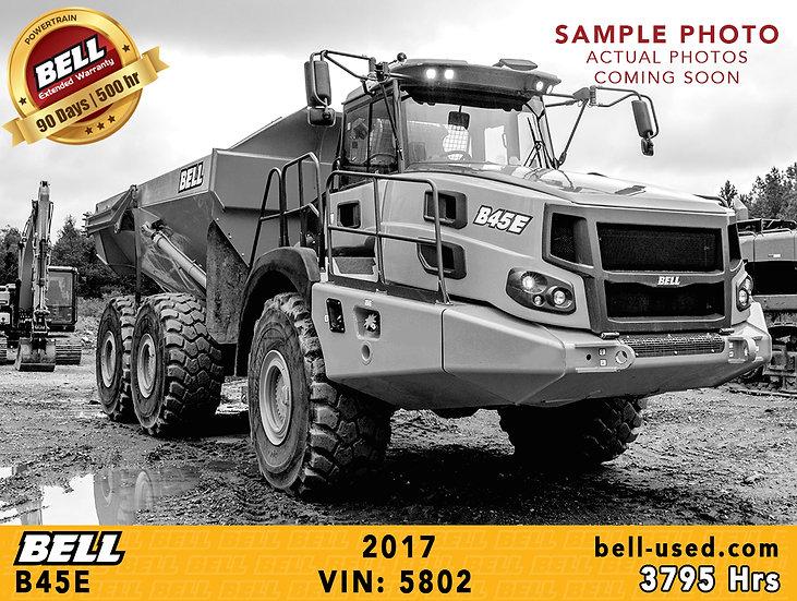 BELL B45E VIN: 5802