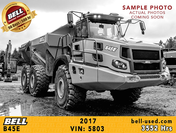 BELL B45E VIN: 5803