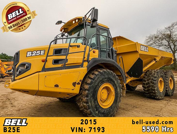 BELL B25E VIN: 7193