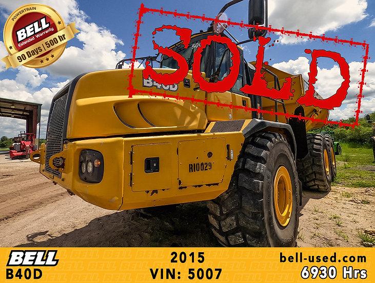 BELL B40D VIN: 5007