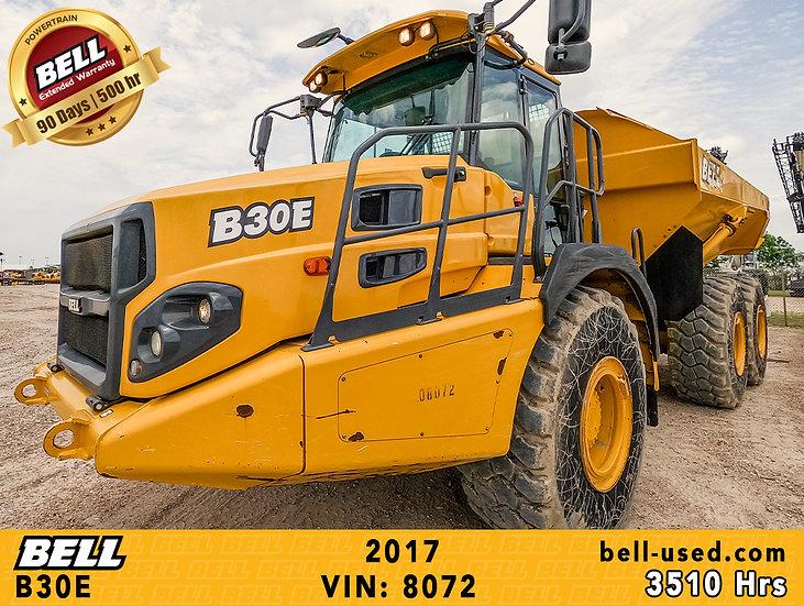 used Bell dump truck B30E