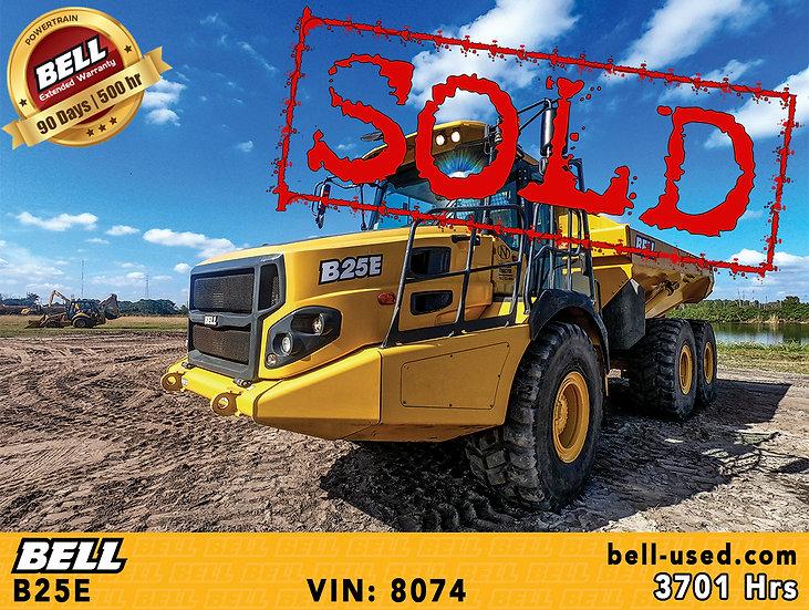 BELL B25E VIN: 8074