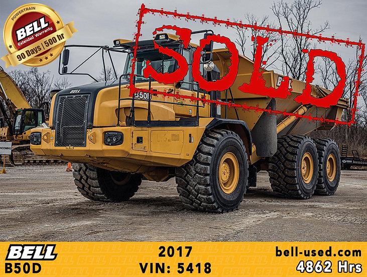 BELL B50D VIN: 5418