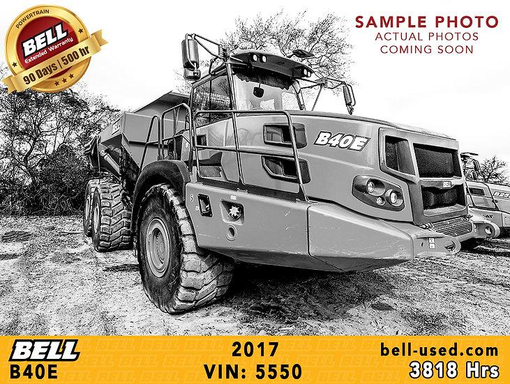 BELL B40E VIN: 5550
