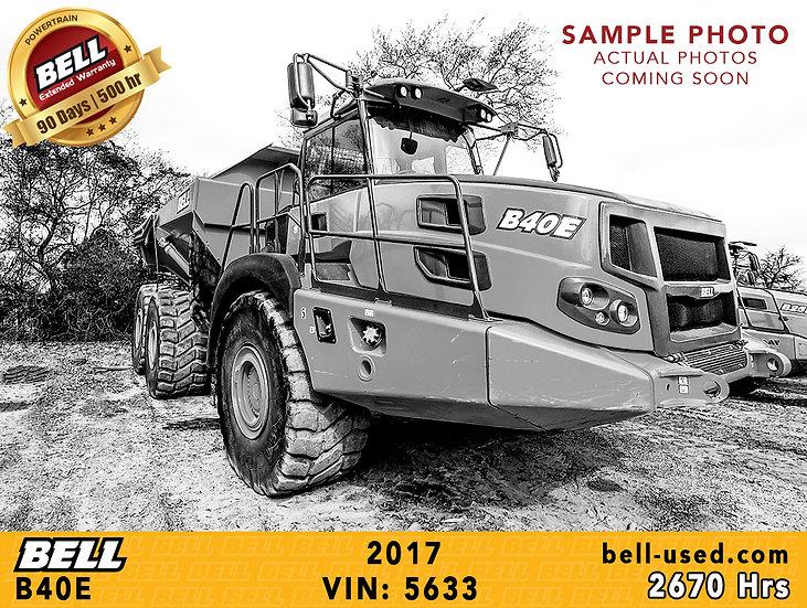 BELL B40E VIN: 5633