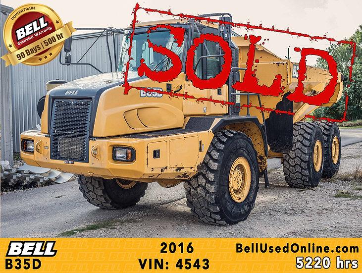 BELL B35D VIN: 4543