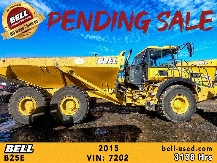 BELL B25E VIN: 7202